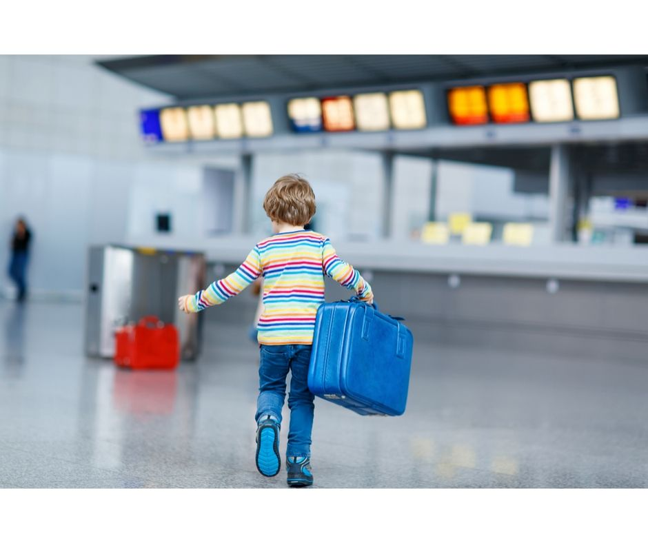 Toddler Travel on Airplane