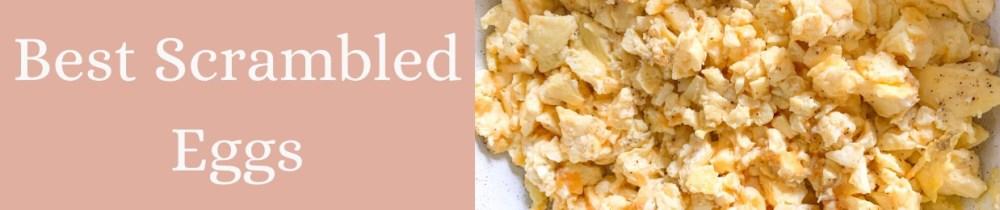 scrambled eggs instagram