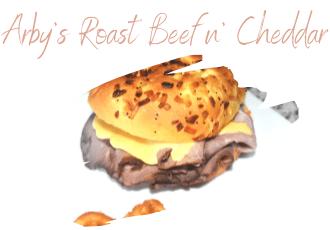 roast beef and cheese on onion bun