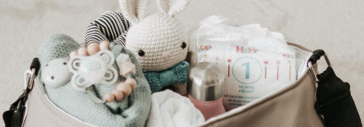 Unterwegs mit Baby | Unsere Wickeltasche