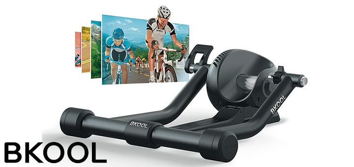 Bkool Cycling Simulator mit Update für Workouts