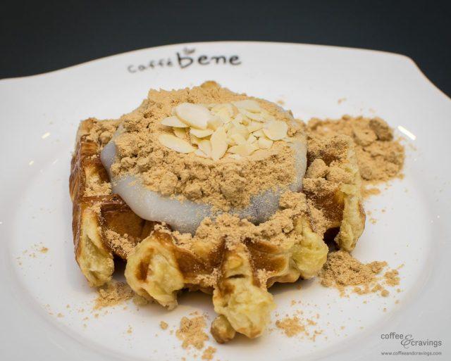 Caffébene Singapore: Rice Cake Waffle