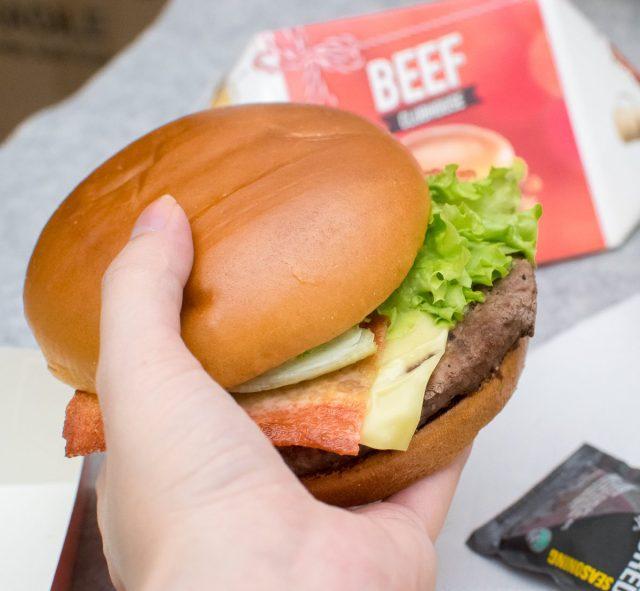 McDonald's Festive Menu-Beef Clubhouse Burger