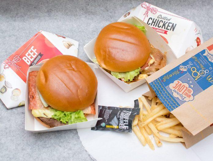 McDonald's Festive Clubhouse Burgers