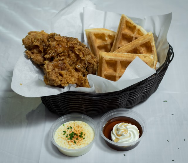 Orchard Central - Dancing Crab - Chicken and Waffles