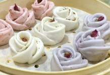 Yum Cha — Steamed Rose Floret Buns