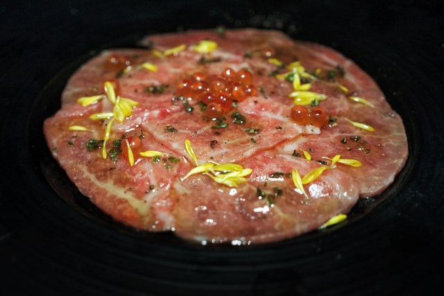 The Container — Smoking Wagyu Carpaccio