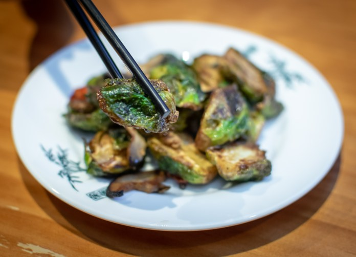 The Salted Plum — Brussel Sprouts