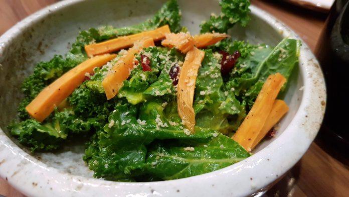 Porta — Sweet Potato & Kale Salad