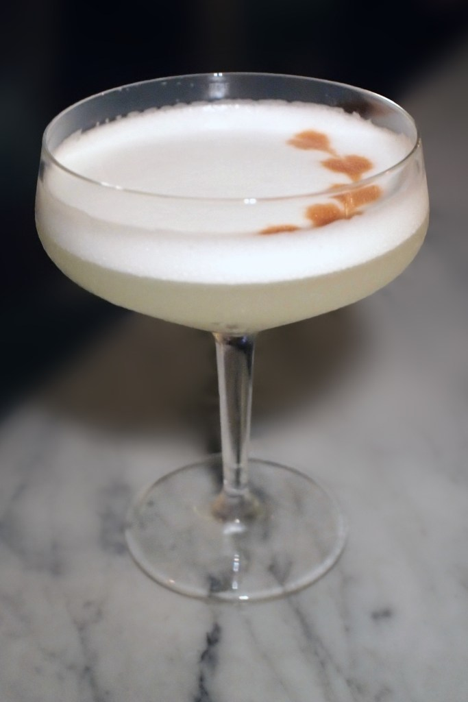 Bochinche — Pear Pisco Sour