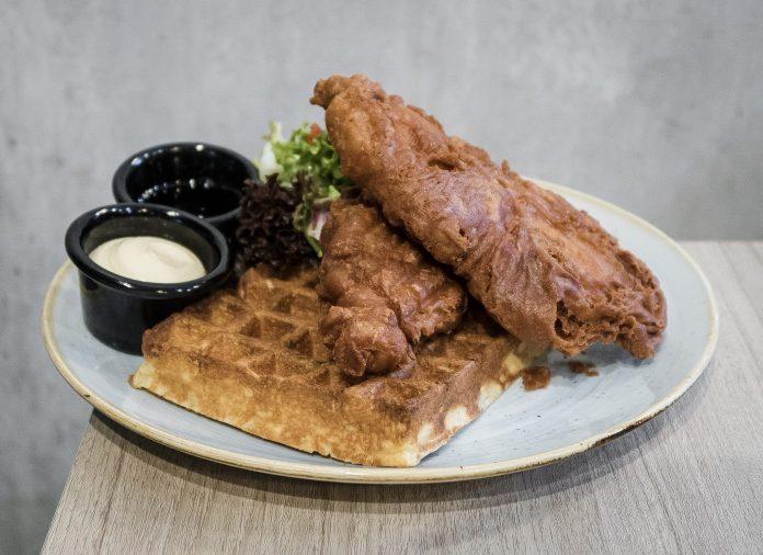 Grub-Har Cheong Gai Waffles