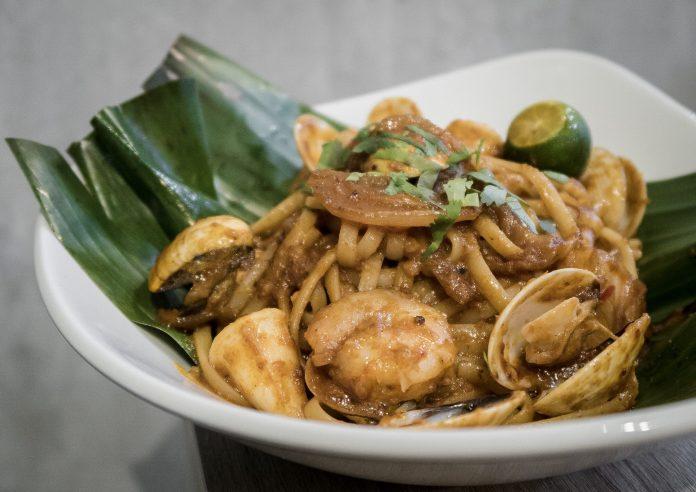 Grub-Sambal Seafood Pasta