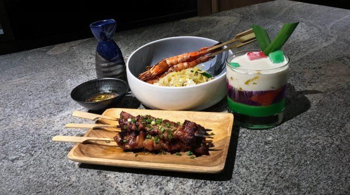Le Binchotan—National Day Dishes