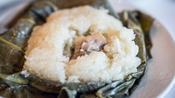 Yan-Singapore National Day-Steamed Hainanese Chicken with Sticky Rice wrapped in Lotus Leaf