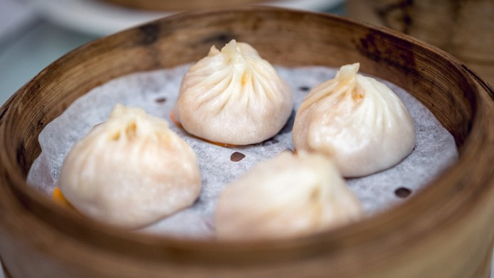Yan-Singapore National Day-Steamed Laksa Xiao Long Bao with Diced Shrimp