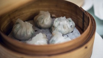 Yan-Singapore National Day-Steamed Pork and Mushroom Dumpling with Chives