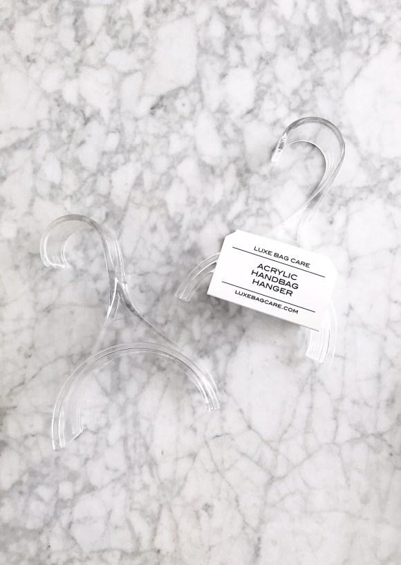 Acrylic Handbag Hanger by LuxeBagCare