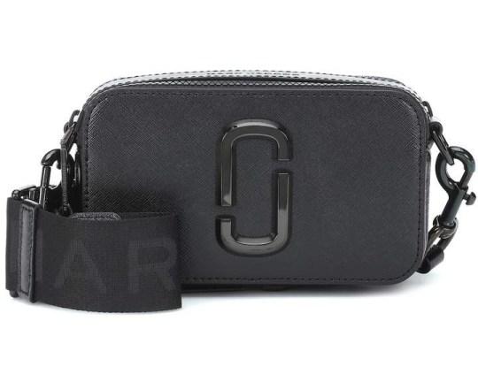Marc Jacobs Black Snapshot Camera Bag under 500