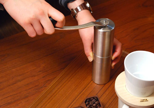 Porlex Tall Japanese Ceramic Burr Hand Coffee Grinder