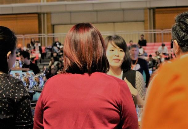 WBC2017での鈴木 樹バリスタのプレゼンテーションの様子