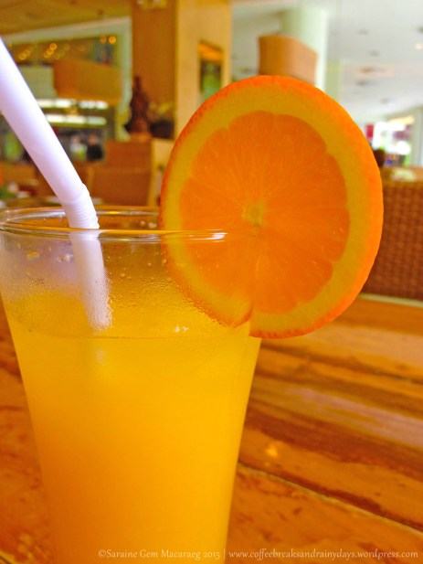 A refreshing orange juice to beat the summer heat.