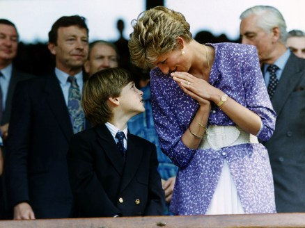 Prince William Collection DATE? Princess Diana and Prince William Dbase