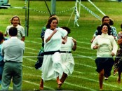 Prince William Collection 1989 Princess Diana storms home in her son Prince Williams sports day Dbase