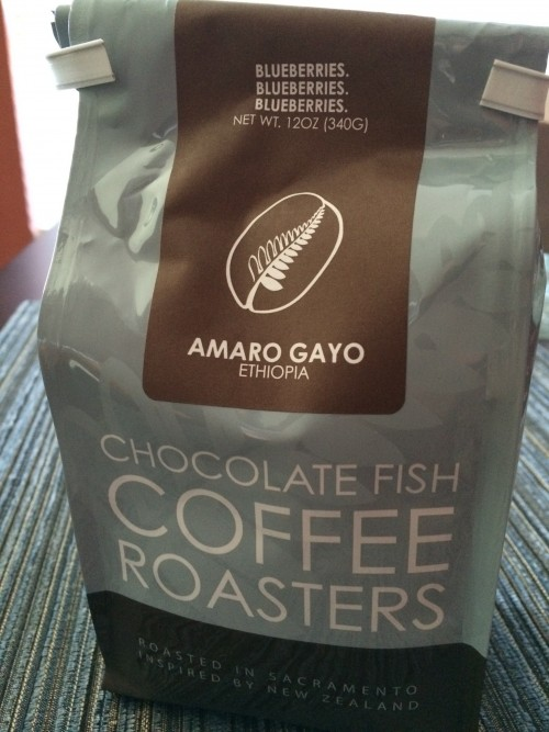 Review: Chocolate Fish Coffee Roasters Ethiopia Amaro Gayo (Sacramento, California)