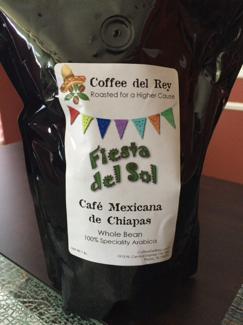 Review: Coffee del Rey Fiesta del Sol Cafe Mexicana de Chiapas (Plano, Texas)