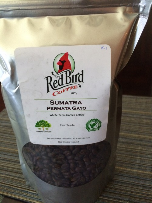 Review: Red Bird Sumatra Permata Gayo (Bozeman, Montana)