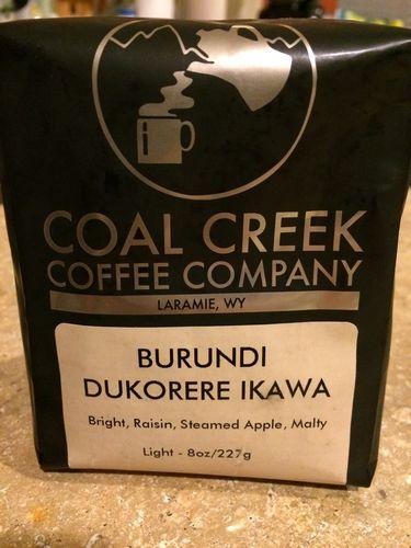Review: Coal Creek Coffee Company Burundi Dukorere Ikawa (Laramie, Wyoming)