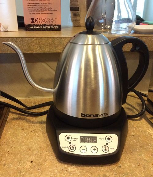 Review: Bonavita Variable Temperature Electric Gooseneck Kettle