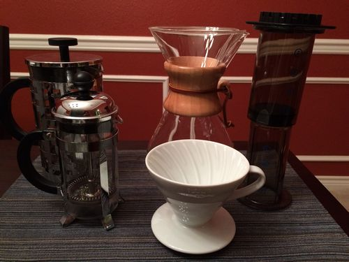 Advice: Choosing a manual coffee brewer