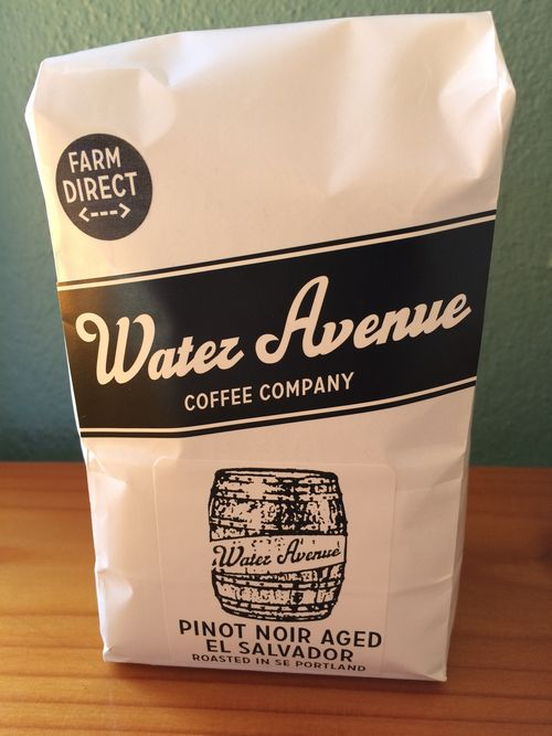 Review: Water Avenue Coffee Company Pinot Noir Barrel Aged El Salvador (Portland, Oregon)