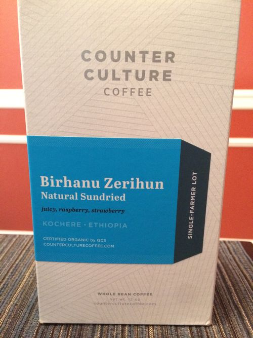 Review: Counter Culture Ethiopia Kochere Birhanu Zerihun Organic (Durham, North Carolina)