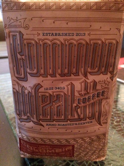Review: Commonwealth Coffee Colombia Carlos Muñoz Nariño (Denver, Colorado)
