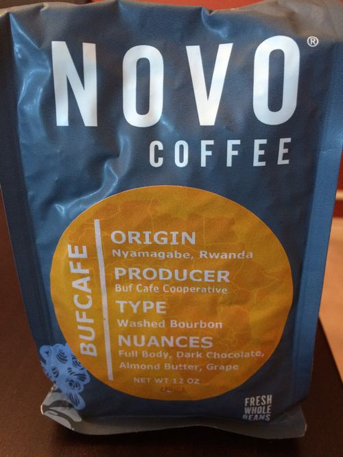 Review: Novo Coffee Roasters Rwanda Bufcafe (Denver, Colorado)