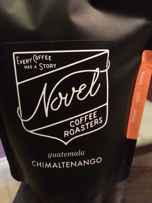 Review: Novel Coffee Roasters Guatemala Chimaltenango (Dallas, Texas)