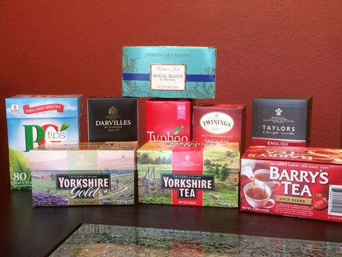 Taste test: British teas