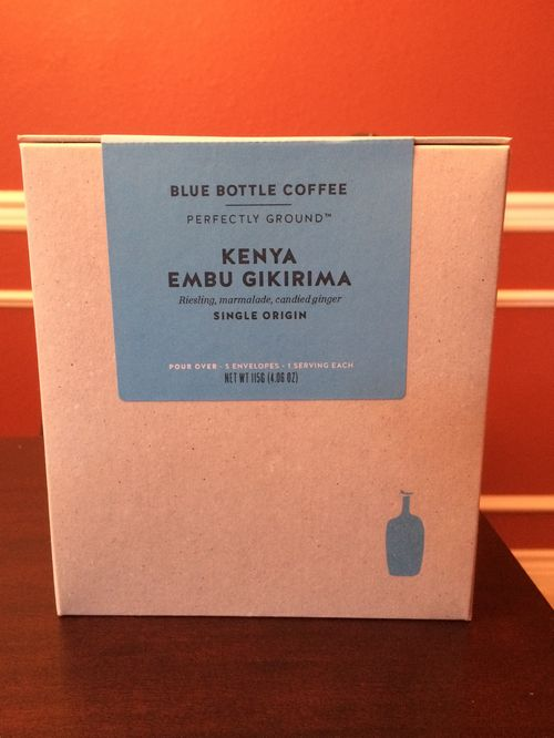 Review: Blue Bottle Perfectly Ground for Pour Over (Oakland, California)