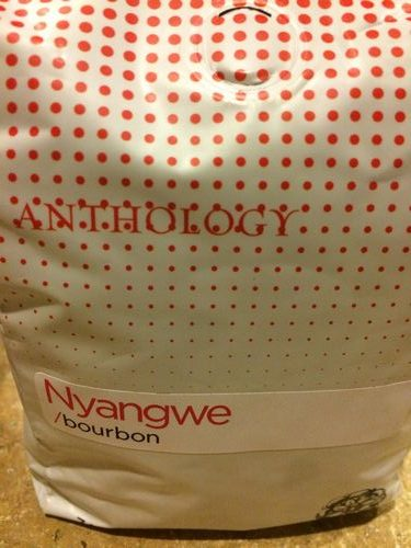 Review: Anthology Coffee Burundi Nyangwe Bourbon (Detroit, Michigan)