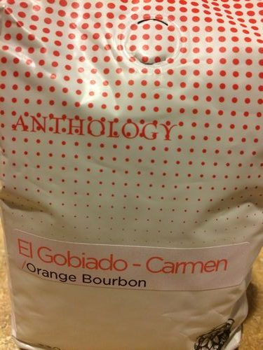 Review: Anthology Coffee El Salvador El Gobiado-Carmen Orange Bourbon (Detroit, Michigan)