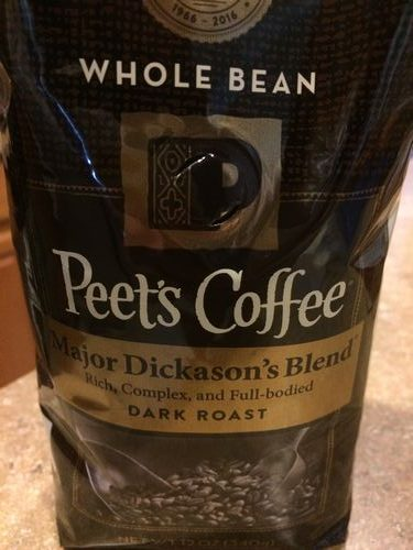 Review: Peet's Coffee Major Dickason's Blend (Berkeley, California)
