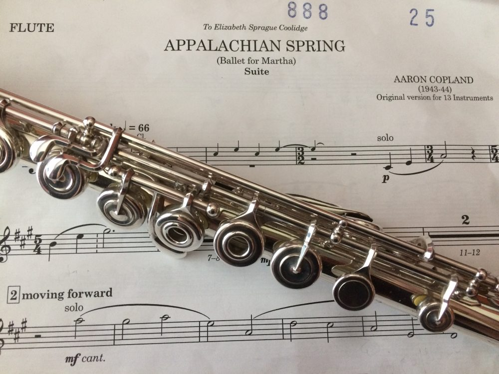 Earnestness, honesty, and Appalachian Spring