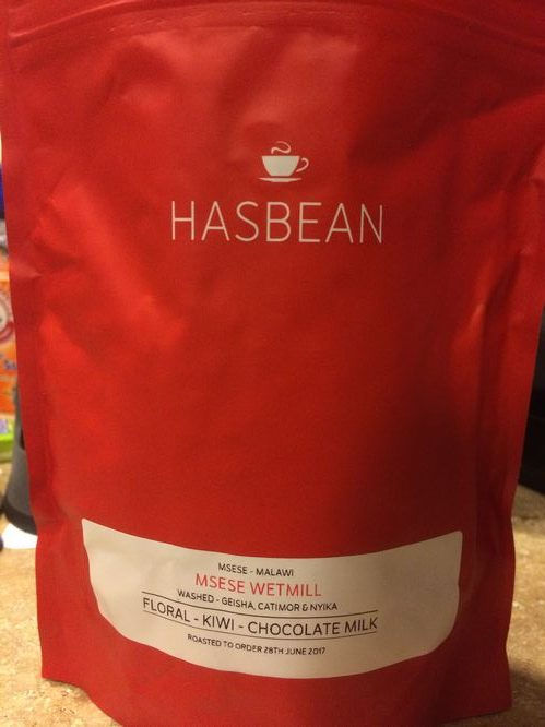 Review: Has Bean Coffee Malawi Msese Wetmill (Stafford, England)
