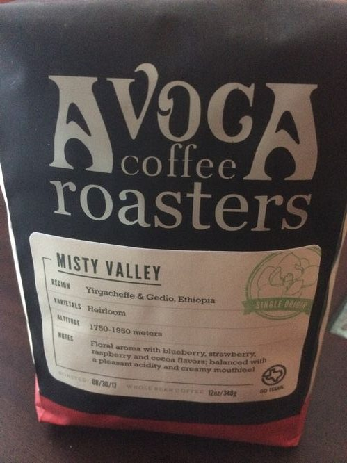 Review: Avoca Coffee Roasters Misty Valley (Fort Worth, Texas)