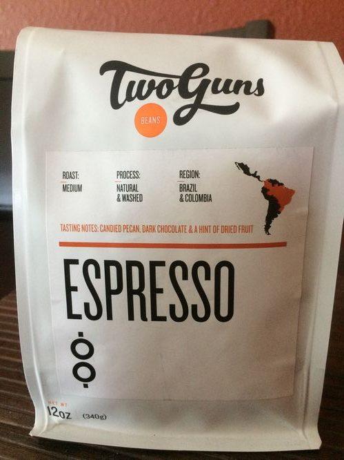 Review: Two Guns Espresso Blend (Manhattan Beach, California)
