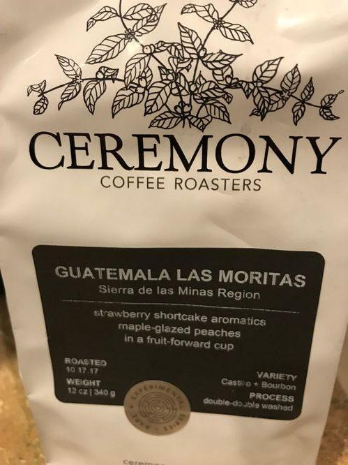 Review: Ceremony Coffee Roasters Guatemala Las Moritas (Annapolis, Maryland)