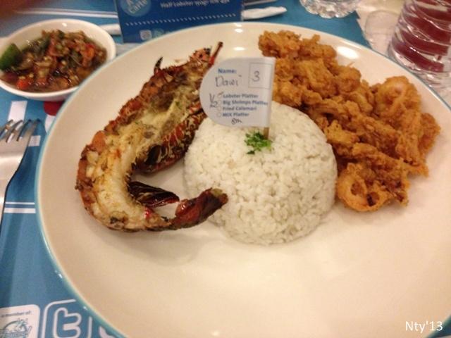 Half Platter Loobie Lobster