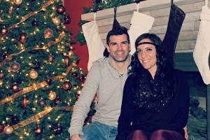 Jason and I on Christmas Day
